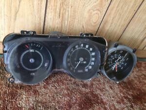 1969-1972 GTO 140 MPH Speedo-Gauges & Cruise Control  400 455
