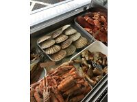 Seafood catering manager