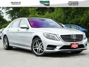 2014 Mercedes-Benz S-Class 550 4MATIC Like New