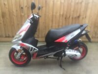 50cc scooter moped 2013 2 stroke long mot