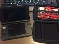 3DS XL red black