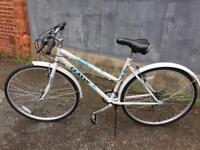 Lady's brand new bike