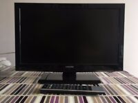 22inch Toshiba HD TV with Remote - Good Working Condition