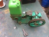 Stationary engine water pump for sale or swap