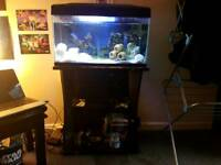 59 Litre Fish Tank And Stand