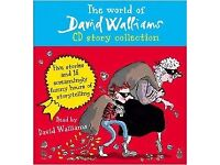 David Walliams CD collection