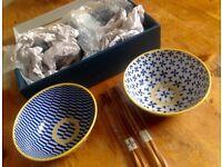 Lovely Japanese gift bowl set by Tokyo design studio