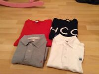Four men's T/Shirts