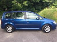 2008 Volkswagen Touran 1.9 TDI MPV 7 Seater 1 Owner Superb Drive PX Possible Clean Interior