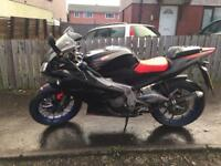 Aprillia RS 125 low miles full year MOT