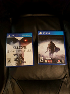 Shadow of Mordor and Killzone: Shadow Fall for PS4