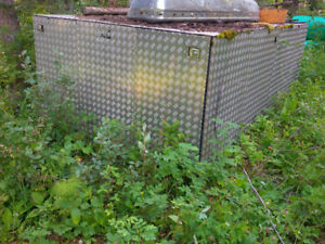 CHECKER PLATED ALUMINUM TRAILER TOP - OPEN TO TRADES (see below)