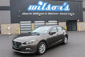 2014 Mazda MAZDA3 GS-SKYACTIV SEDAN! HEATED SEATS! REAR CAMERA!