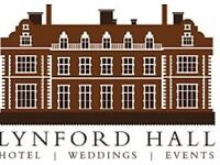 Bar Staff Required - West Norfolk Hotel and Events Venue near Thetford