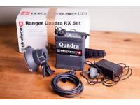 Elinchrom Quadra Rx Ranger Lithium Li-on pack, battery and S head