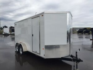 7' x 16' Enclosed Rainbow Trailer