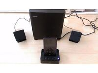 Maxell Ipod dock with aux input for any device, e.g Mobile Phone