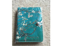 "7 inch Case Cover Book For 'Tablet - 7"" Turquoise flower print case"