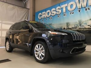 2016 Jeep Cherokee Limited | 3.2L V6 engine | heated and ventila