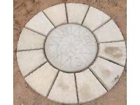 Compass rotunda (1.2 metre wide ) 4ft