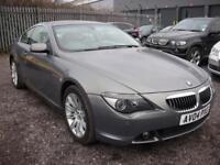 BMW 6 SERIES 4.4 645CI 2d AUTO 329 BHP Sat nav - Leather - Xeno (grey) 2004