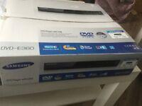 Samsung DVD-E360 DVD player with USB