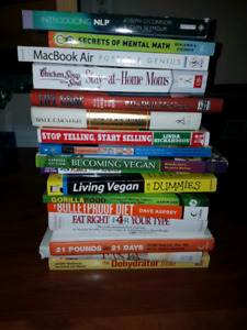 17 Books 4 Sale!