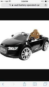 USED AUDI BATTERY OPERATED CAR