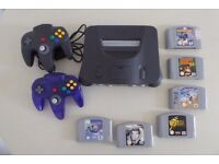 Nintendo N64 Console and Classic Games Bundle (incl Goldeneye)