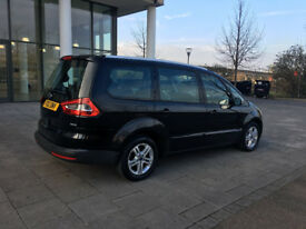 pco 2012 ford galaxy 1.6 tdci eco diesel manual, 7 seater , met black, 75k, 1 owner, hpi clear 100%
