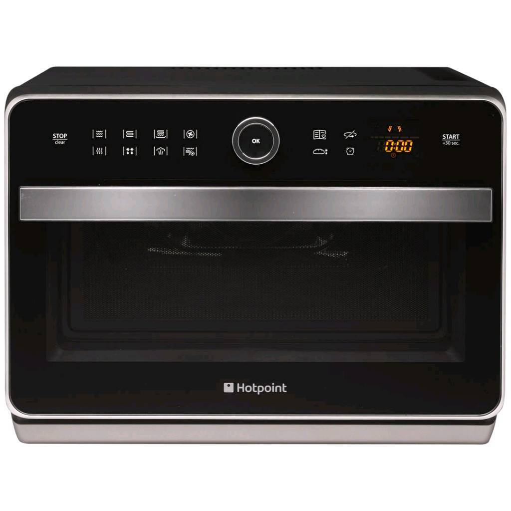 Hotpoint Ultimate Freestanding Combination Microwave Oven With Grill Black Rrp 270