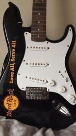 Fender squier strat. Hard Rock Cafe