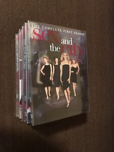 Sex and the city dvd's - season 1-6