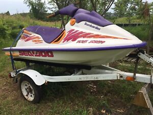 Seadoo SPI and trailer
