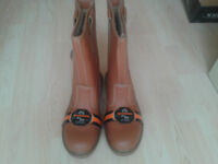GroundWork Rigger Safety Work Boots Size 9