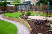 Lawn care,Sod install and landscape construction 587-586-2443