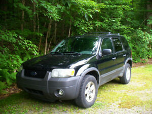 2007 Ford Escape XLT 4X4