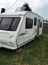 Elddis Advante 505 - 5 birth caravan and awning lots of extras
