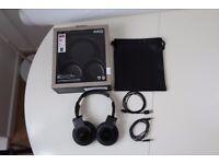 AKG K845BT Black High Performance Bluetooth Headset NFC Superb Sound Quality £190 when New