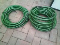 2 rolls of thick hose pipe, in very good condition