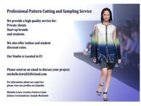 Professional Pattern Cutting and Sampling Service