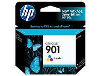 HP 901 Tri-color Original Ink Cartridge (CC656AE)