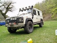 Land Rover Defender 110 200tdi - 1992 - 95000 miles - various mods - exportable