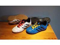 Boys football boots x 2 size 12