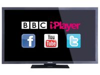 """32"""" smart tv £130 price is negotiable and guaranteed."""