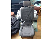 Toyota Previa Middle Row Middle Seat with Built-In Seat Belt
