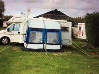 Awning for Motorhome or caravan.