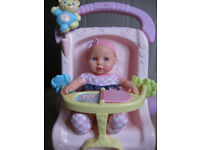 Fisher-Price MUSICAL TODDLER PUSHCHAIR for doll £45 from TOYS R US! + DOLL!