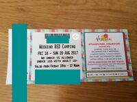 ** PAIR V FESTIVAL TICKETS ** £150 pair !!!!!!!! Chelmsford weekend camping