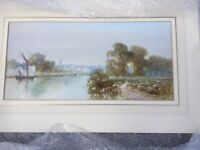 Original and signed watercolour by John Shapland